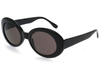 201a5c6c9c Nirvana Kurt Cobain Sunglasses Black Alien Shade Mod Cat Eyes