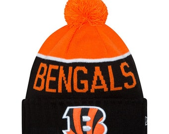 Cincinnati Bengals Beanie On Field Sport Knit Pom Knit Hat Cap 5eff90ce1