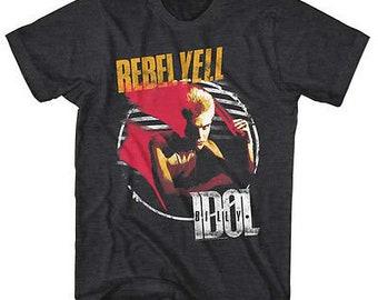 6c2bbc62560241 Billy Idol Rebel Yell T-Shirt