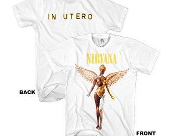 7786a639 Nirvana In Utero White T-Shirt