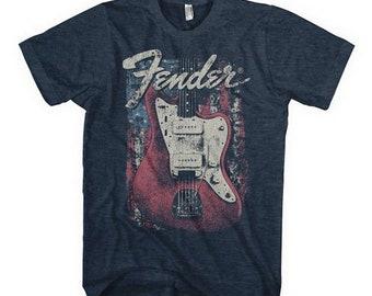 d1a22c89 Fender Guitar Flag T-Shirt