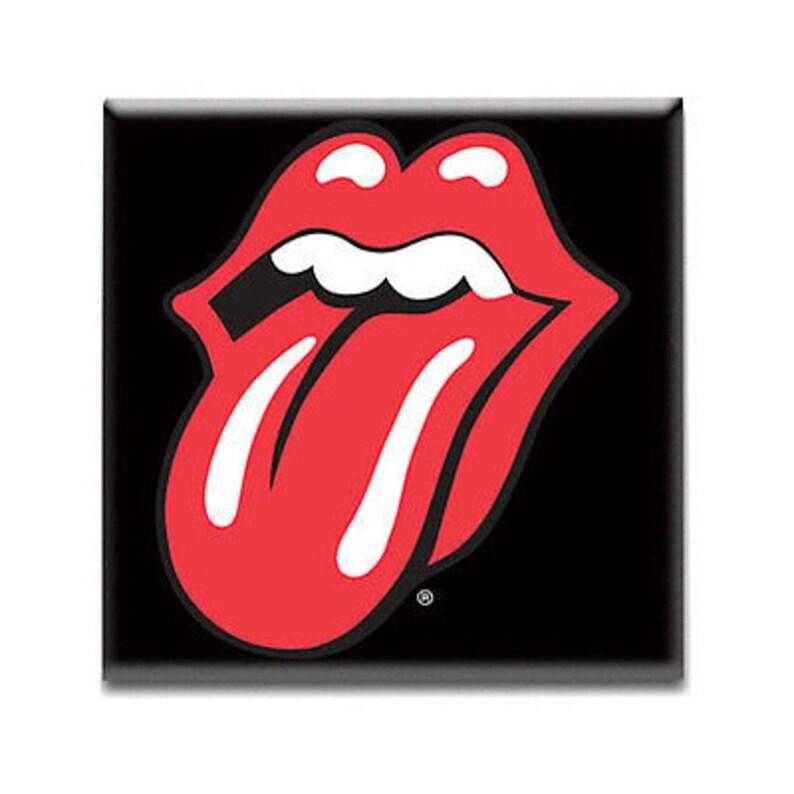 Import The Rolling Stones Fridge Magnet-Classi
