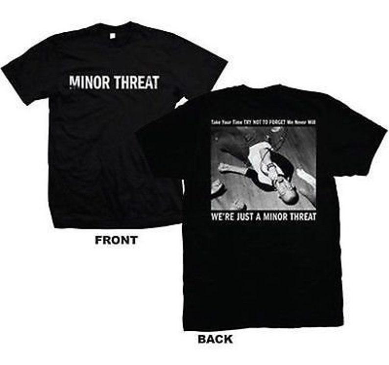 MINOR THREAT Black Sheep Out Of Step Logo Zip Hoody Sweatshirt S-XL