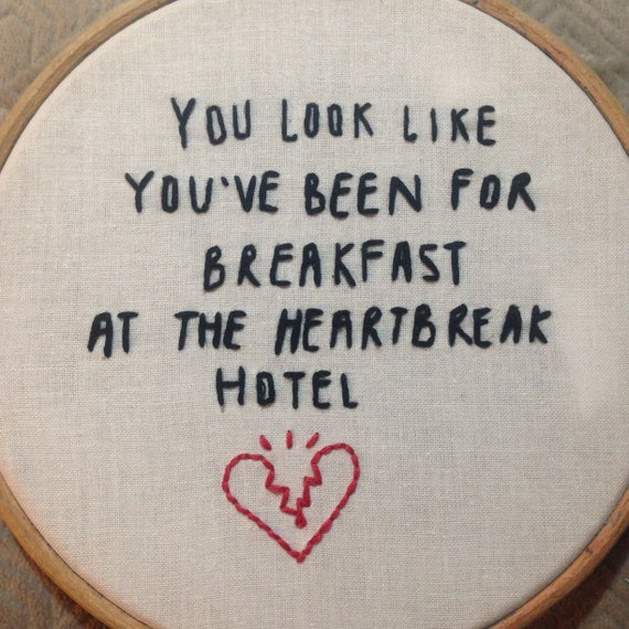 Music Embroidery Quote, Arctic Monkeys lyrics, Piledriver Waltz, Lyrics  quote, handstitched hoop, embroidery lyrics, embroidery quote