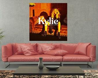 4165a5dcc1 Kylie Minogue Golden Album Poster Art silk Wall decor Print