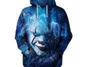 Clown cool hoodie sweatshirt coat jacket winter cloth 2019 gift unisex hooded shirt hoodie high quality