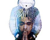 Hip hop rapper cool hoodie sweatshirt coat jacket winter cloth 2019 gift unisex hooded shirt hoodie high quality 6