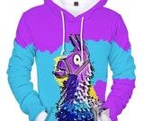Lama cool hoodie sweatshirt coat jacket winter cloth 2019 gift unisex hooded shirt hoodie high quality