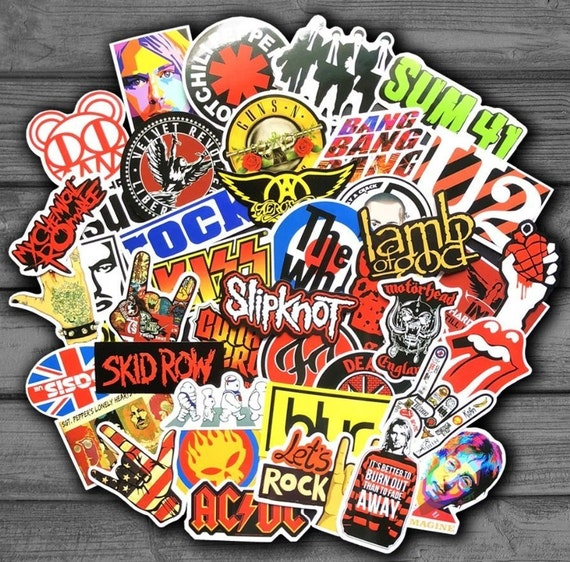 Cool Mixed Stickers Planner Stickers Vinyl Stickers Super Cool Stickers Custom Stickers Sticker Pack 50pcs Laptop Stickers