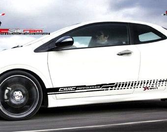 Stickers Jdm Honda Acura Drift Swap Decal Vinyl Tuner B20 Inside Decals 2