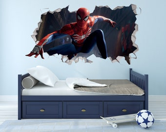 SUPERMAN Man Of Steel Wall Sticker 20 Decal Superhero Room Party Decor DC Comics Home