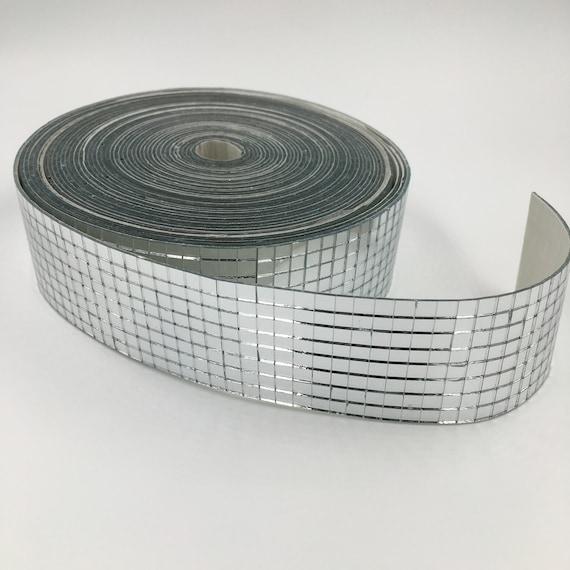 Self-Adhesive REAL Glass Craft Mini Square /& Round Mirrors Mosaic Tiles 5 x 5mm