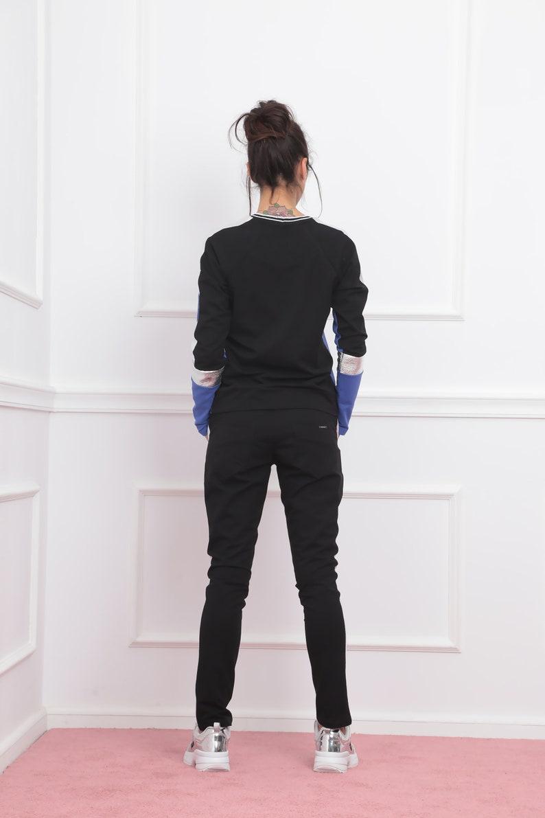 Yoga Shirt Womens Track Pants Harem Pants Two Piece Set active wear Track Jacket,Track suit Tank Top