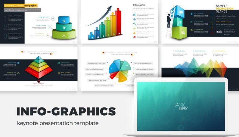 infographic template psd
