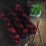 "Speckled sock yarn | ""Mary, Queen of Scots"" 