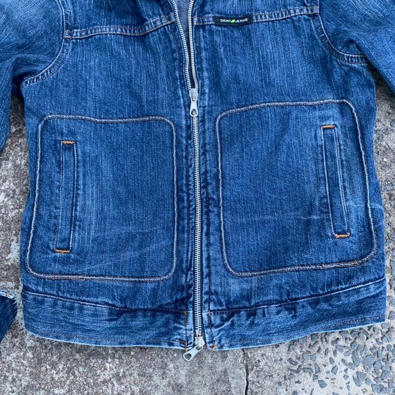 Vintage DKNY blue denim jacket sz M10