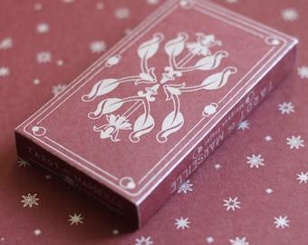 Tarot de Marseille - burgundy / silver
