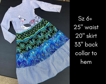 Colorful Twirly Dresses with Ruffles, Comfy Dresses for Fancy Children, Lots of Patterns and Sizes