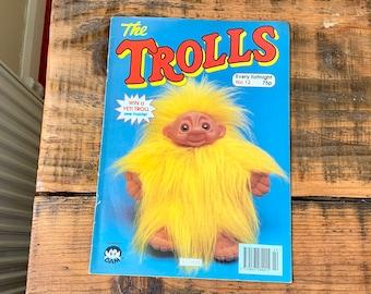 Rare, Redan, 1993, The Trolls, Dam, Troll, Magazine, Comic, Activity, Book, Collectible, Retro, Toy, Memorabilia, Gift, Present, Childhood