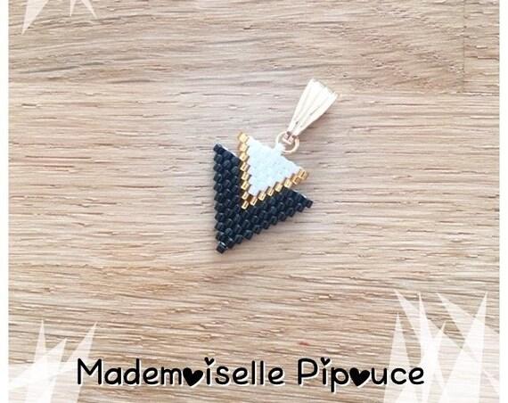 Black woman Métis pendant