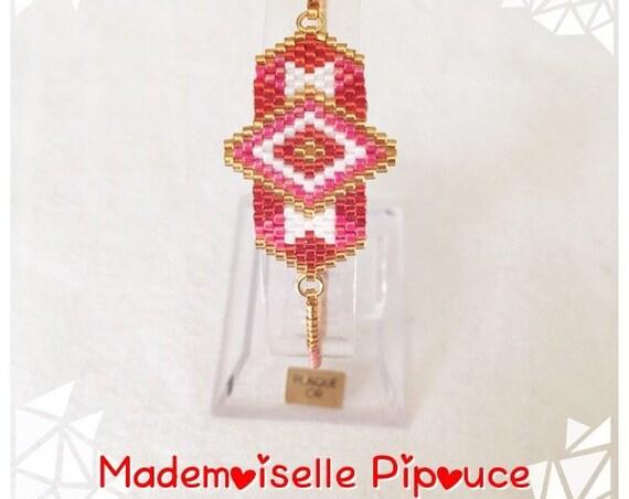 "Bracelet ""héra"" red woman"