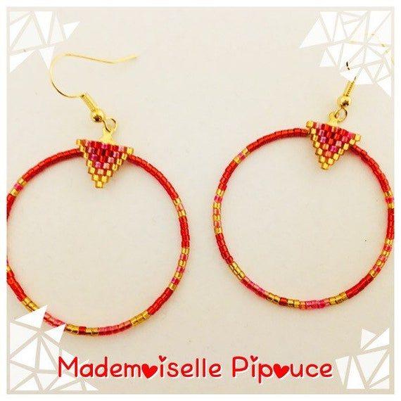 Hoop earrings for woman