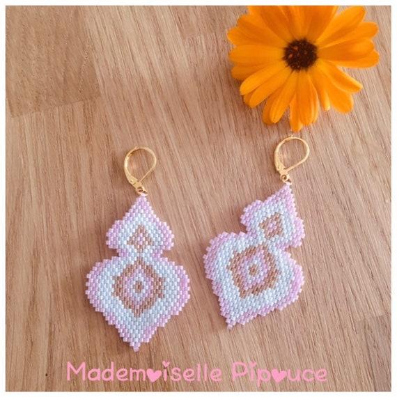 Pink Woman Maia earrings