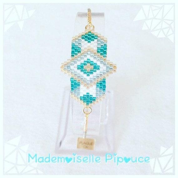 "Bracelet ""héra"" blue woman"