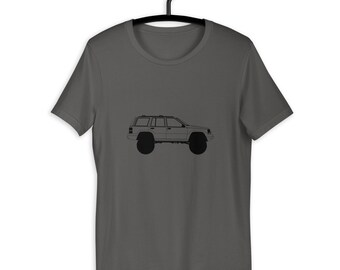 JEEP BLACK T-SHIRT Wrangler Shirt Short Sleeve Cherokee Off Road It/'s A Thing