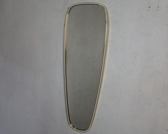 High-quality wall mirror from the 60s original Munich decorative mirror