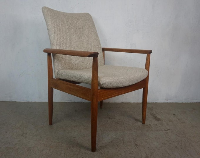 Featured listing image: Diplomat Armchair by Finn Juhl from France and Son