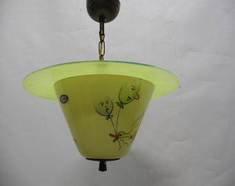 Iconic ceiling lamp by Lacroix