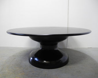 Exclisive designer coffee table complete in black