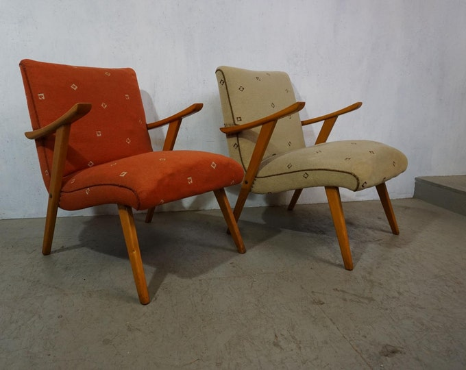 Featured listing image: Two typical armchairs from the 1950s