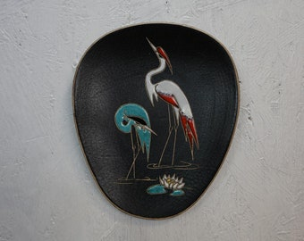 50s 60s Wall Plate Vintage Decoration Mid Century