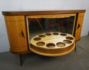 Original Sesame Bar of the 50s 60s Bar Cabinet Corner Cabinet Mid Century Vintage