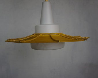Beautiful pendant lamp from the 50s