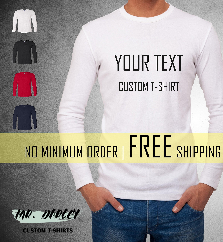 Create T Shirt No Minimum Order | Top Mode Depot