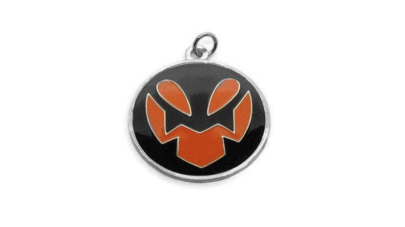 RWBY inspired Roman Torchwick Emblem Pendant Keychain