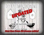 DIY Rae Dunn Inspired Birdhouse