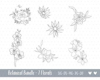 Botanical Cricut svg Mug T-Shirt svg Cut File BUY 3 GET 30/% OFF Cute Bunny holding flower svg Clipart File Cute Cutting File Animals