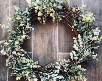 Wreath For Fireplace Etsy