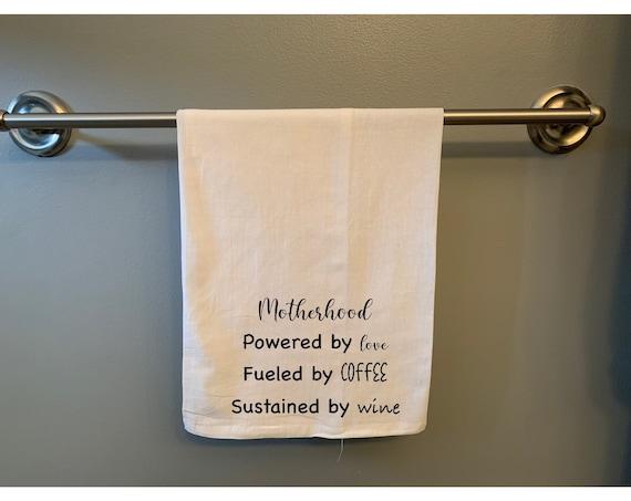 Motherhood 100% Cotton Flour Sack Tea Towel