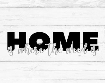 Home is where the weed is, Digital File, Cut File for Silhouette and Cricut, Mug Decal, Shirt Decal
