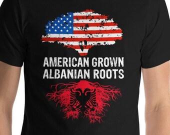 74bd5ca13 Albanian Roots - American Grown Shirt