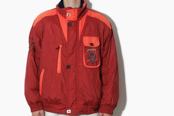 Vintage 90s mountain wear oversized puffer ski jacket coat
