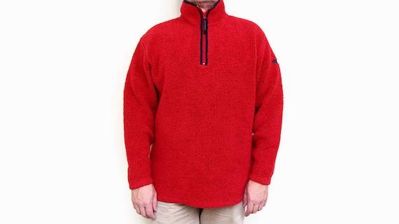 vintage GANT USA big logo FLEECE men/'s Size M authentic sweater sweatshirt 90s 80s rare retro hipster hip hop winter rave outdoor warm wear