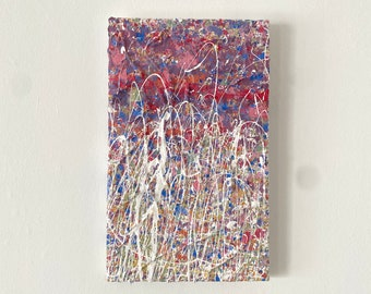 Abstract Landscape Painting For Home Gallery - Colourful Gallery Wall Artwork - Original Art By An Emerging Artist - Textured Art On Canvas