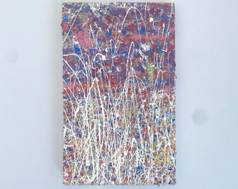 Abstract Painting For Home Galleries - Textured Artwork On Canvas - Colourful Gallery Wall Art - Original Paintings By Emerging Artists