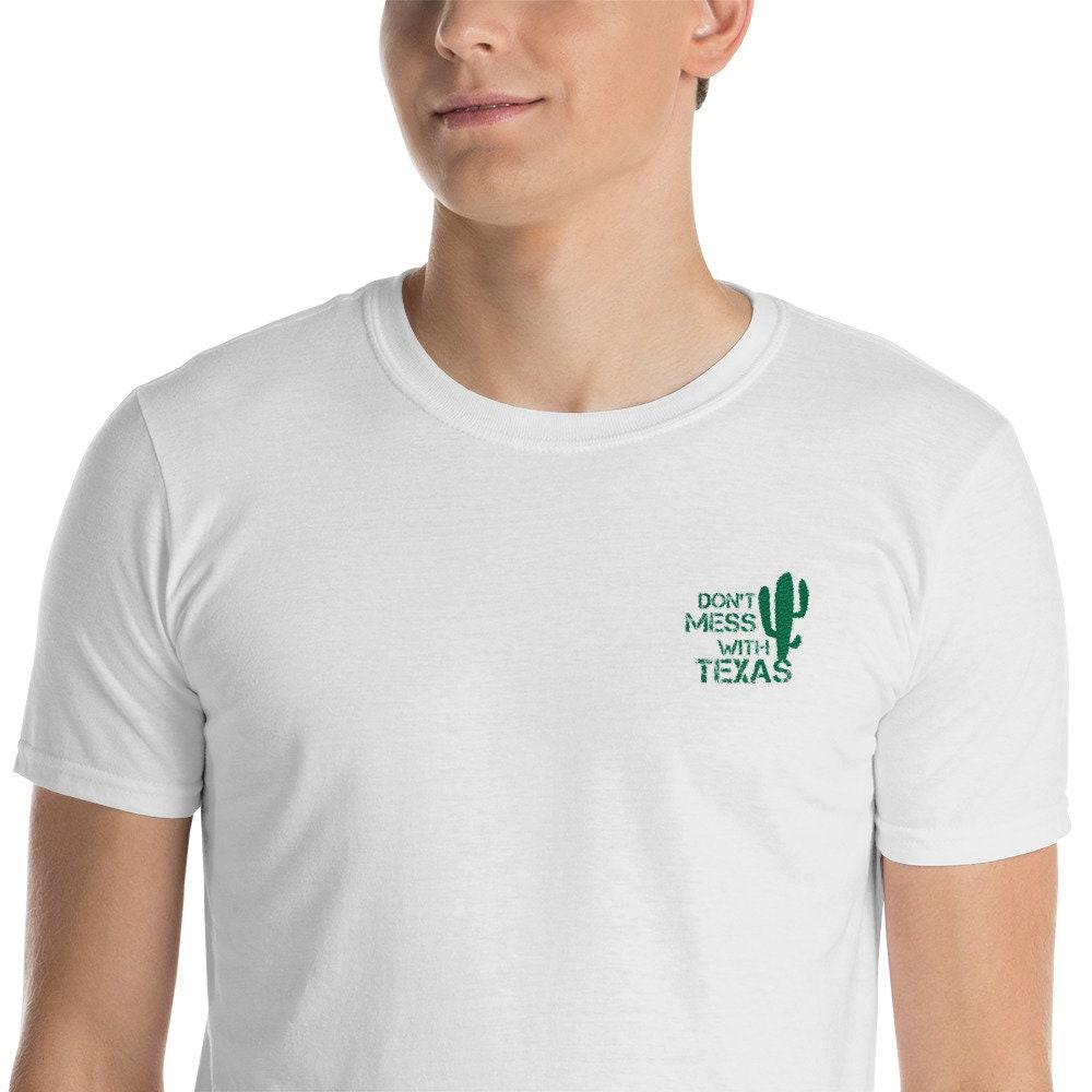 c243a93171874 Ne plaisante pas avec Texas manches drôle chemise manches Texas courtes T-Shirt  unisexe qualité